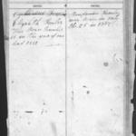 Benjamin Fowler  & Elizabeth Shaffer family Bible.