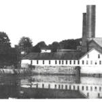 The settling basin and filtration plant of the waterworks, Mahoning Avenue and Summit Street.