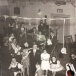 The Grape Harvest Dance held at the Magyar Presbyterian Church during the 1950's.
