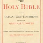 Williams family Bible.
