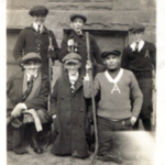 Stinson Street School hockey team, 1919-1920.