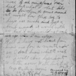 """Soldiers' mail of August 25, 1918 from Corporal Walter A. Morris to his mother from """"somewhere in France""""."""