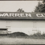 The Warren Gun Club, circa 1956.  Pictured are the donor Leo A. Teachout and his sister Mary.  The club is private and was formed in the 1920s.