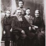Lattin family portrait.