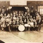 Cortland School Band, 1925-1926.