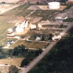 Ashland Oil and Refining Terminal propane tank in Niles, Ohio.