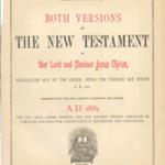 Family Bible of William P. Thomas and Mary A. Davis Thomas.