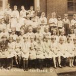 Cortland School 3rd grade, circa 1921.