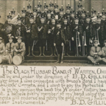 The Black Hussar Band of Warren, Ohio, organized and under the direction of B.D. Gilliland.