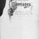 William T. Gudgel and Myrtle Burnett family Bible.