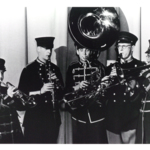 Band members left to right: James McGinty, Robert Miller, Joseph Hrecz, Donald Byo and Fred Wilson.
