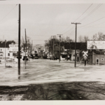 Niles Road during the Flood of 1959.
