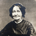 Civil War era photo of a seated woman.