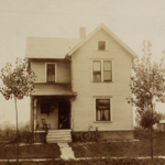 Craig family home at 106 (old) or 245 (current) W Tod Avenue.