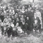 Unidentified gathering in Wildare, Ohio.
