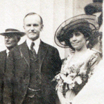 Vice President Calvin Coolidge and Mary Thomas Waddell, Harding Day, Niles, Ohio.