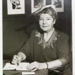 Signed photo of Mabel Helen.