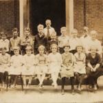 Cortland School 4th grade, circa 1922.