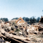 Unidentified home destroyed, Niles Ohio.