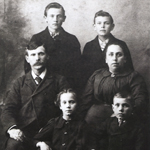Samuel E. Rodgers and Minnie Kee Rodgers family.